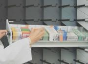 colonnes tiroirs pharmacie